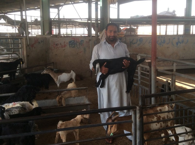 Buying meat in Dubai - The Farmers and the Winemaker Dinner Part 2